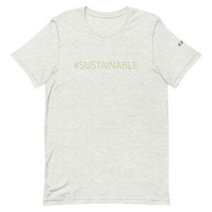 #Sustainable Tee