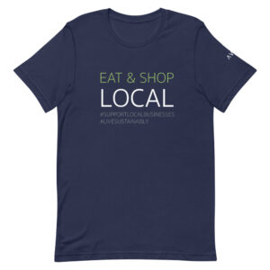 Eat & Shop Local Tee